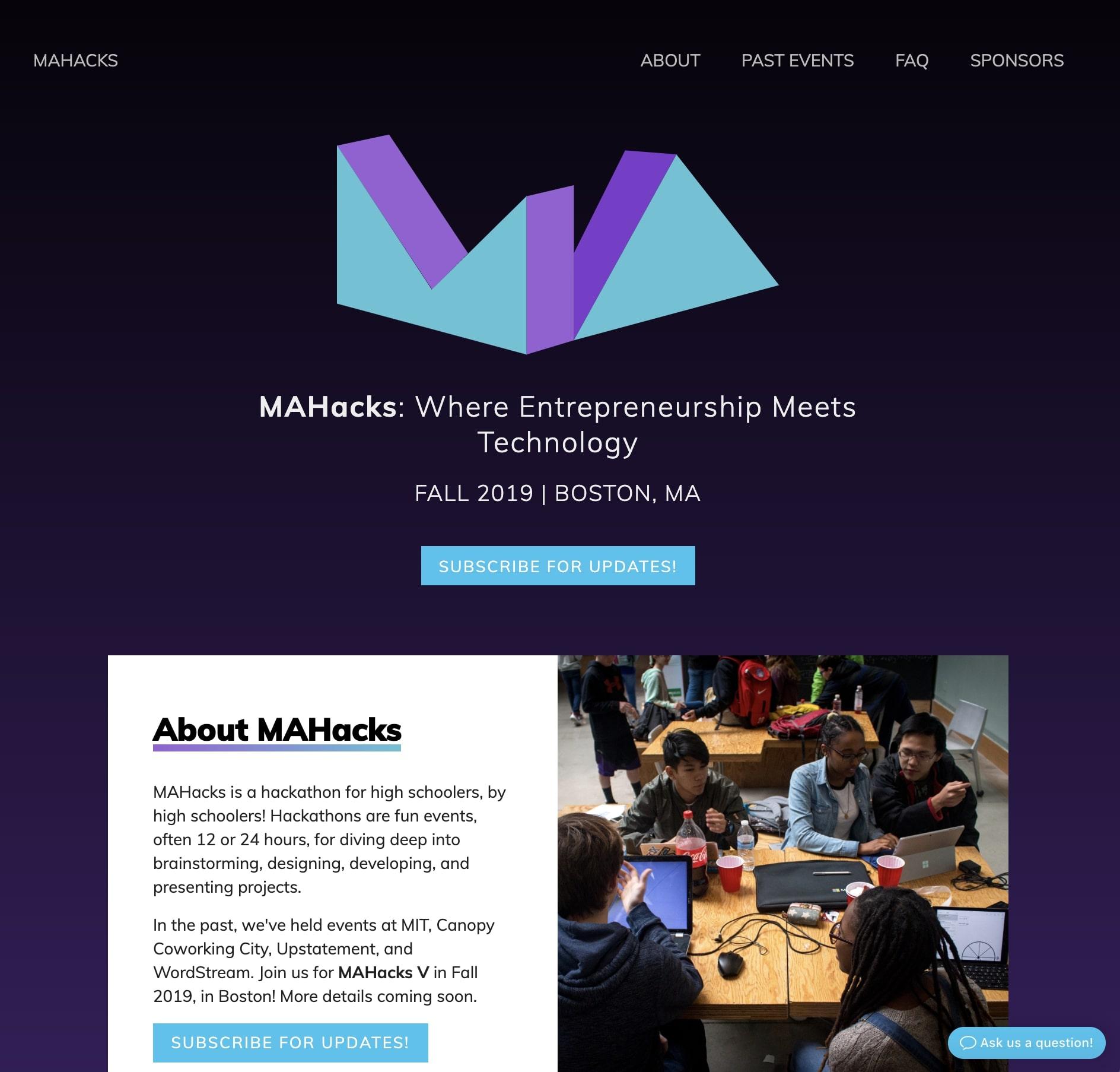 MAHacks mahacks.com