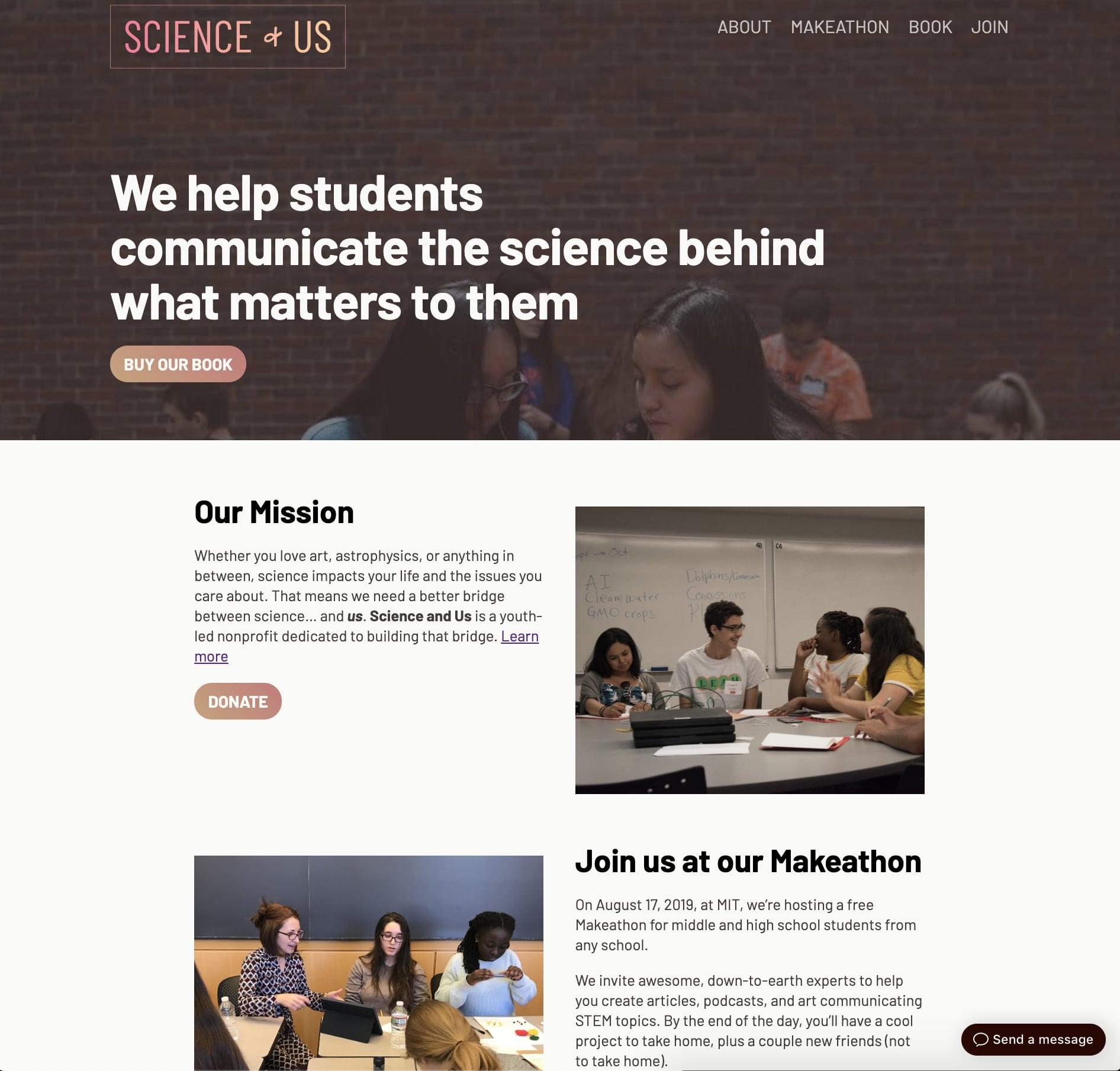 Science and Us scienceandus.org