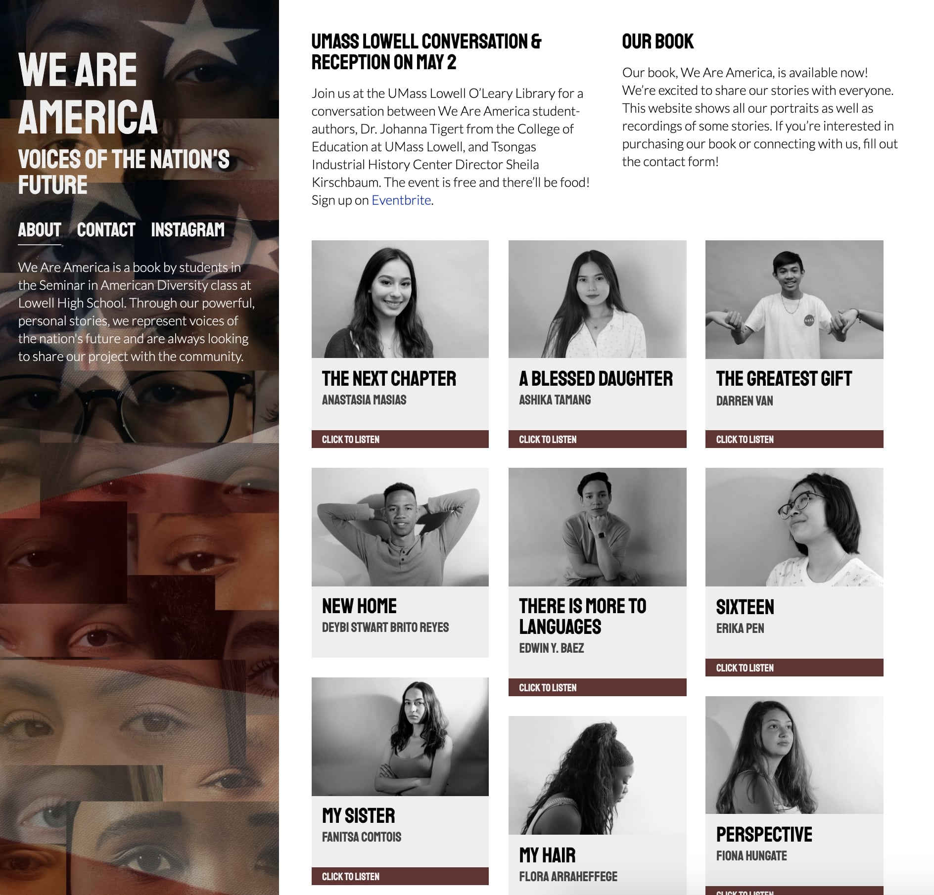 We Are America lhsweareamerica.com